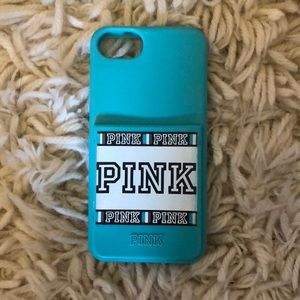 iPhone 7-8 silicone teal case
